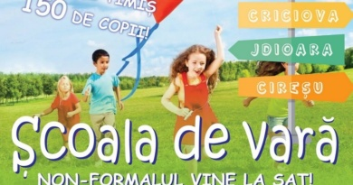 Lugoj Expres Școala de vară nonformală! Proiect pentru copiii din Balinț, Bodo, Criciova, Jdioara și Cireșu școala de vară școală proiect Jdioara Criciova copii comunități dezavantajate Cireșu Bodo Balinț Alternativ Ed