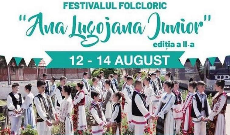 """Lugoj Expres Festivalul folcloric """"Ana Lugojana Junior"""", ediția a II-a Timiș Lugoj lada cu zestre folclor festival copii Caraș-Severin ansambluri Ana Lugojana Junior"""