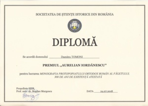 Lugoj Expres monografia protopopiatului faget diploma Tomoni 1a