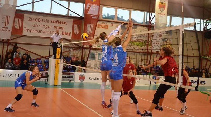 Lugoj Expres CSM Lugoj - o victorie și o înfrângere, la Cupa Blajului Volei Alba Blaj volei turneu Cupa Blajului CSM Lugoj Agroland Timișoara