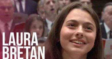 """Lugoj Expres Laura Bretan va cânta la Biserica Baptistă """"Harul"""" Românii au talent recital Laura Bretan Eurovision copilul minune cântă Biserica Harul"""