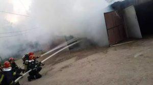 Lugoj Expres incendiu garaj 7