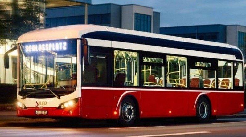 Lugoj Expres Transportul în comun din Lugoj, cu autobuze electrice turco-germane Sileo stație încărcare proiect Lugoj licitație fonduri europene contract autobuze turco-germane autobuze Sileo autobuze electrice