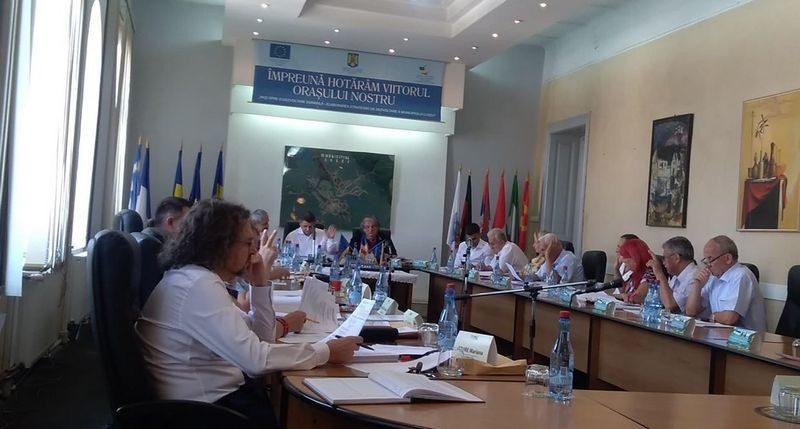 Lugoj Expres Aleșii lugojeni și-au împărțit locurile în Consiliile de administrație ale unităților de învățământ unități de învățământ ședință școli PSD PNL PMP Lugoj grădinițe Consiliul Local Lugoj consilii de administrație consilieri ALDE