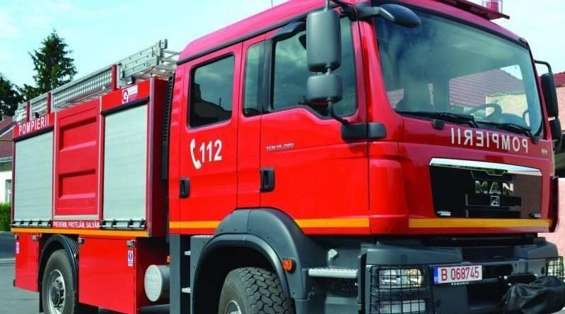 Lugoj Expres Autospecială de intervenție ISU, pentru comuna Nădrag situații de urgență pompieri Nădrag ISU Consiliul Județean Timiș comuna Nădrag Călin Dobra autospecială