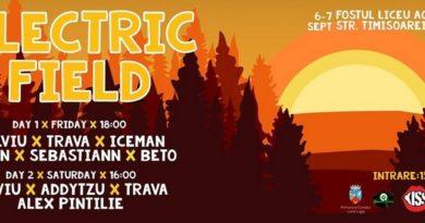 Lugoj Expres Un nou festival, la Lugoj: Electric Field platane muzica Lugoj festival eveniment Electric Field DJ