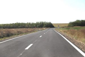 Lugoj Expres Drumul județean Valea Lungă Română - Cliciova a fost inaugurat Valea Lungă Română primar premiera PNDL lucrare inaugurare finanțare drum DJ 609 Consiliul Județean Timiș Cliciova CJT Călin Dobra Bethausen Balinț astfaltare finalizată asfaltare