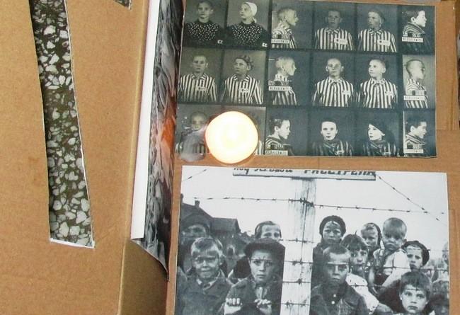 """Lugoj Expres Lumini în întuneric! Victimele Holocaustului, comemorate de elevii Liceului """"Iulia Hasdeu"""" victime proiect Lumini în întuneric Lugoj Liceul Teoretic """"Iulia Hasdeu"""" Lugoj lagăr holocaust exterminare elevi comemorare Auschwitz 75 de ani"""
