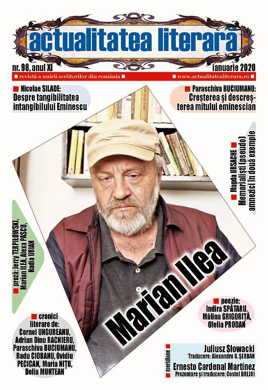 Lugoj Expres A apărut numărul 98 al revistei Actualitatea literară scriitori revistă proză poezie poeți Lugoj librării cultură cronici literare actualitatea literară