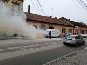 Lugoj Expres microbuz incendiu Lugoj 3