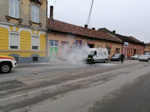 Lugoj Expres microbuz incendiu Lugoj 4