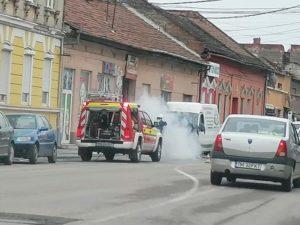 Lugoj Expres microbuz incendiu Lugoj 6