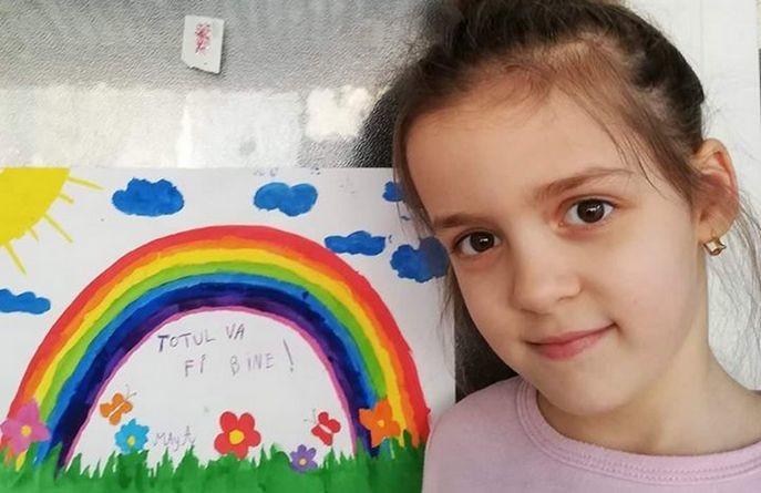 """Lugoj Expres Campania """"Totul va fi bine"""" a ajuns și la Lugoj Totul va fi bine Școala Gimnazială"""