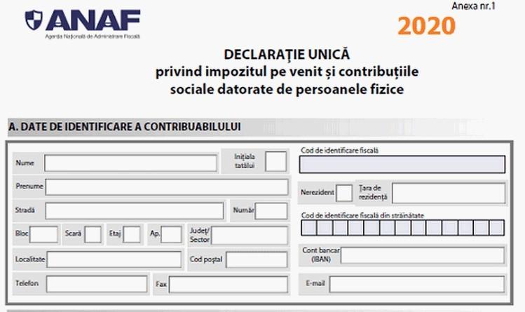 Lugoj Expres Termenul limită de depunere a Declarației Unice pentru impozitul pe venit a fost amânat venituri termen limită persoane fizice obligații fiscale depunere declarația unică contribuabili bonificații