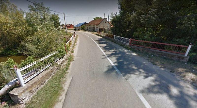 Lugoj Expres Podul de la Găvojdia va fi reabilitat reabilitare pod pârâu licitație Găvojdia DJ 584A contract constructor Consiliul Județean Timiș