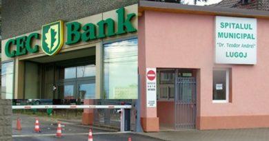 Lugoj Expres CEC Bank sponsorizează Spitalul Municipal Lugoj! 100.000 de lei pentru achiziția de echipamente de protecție Timiș Suceava sponsorizări Spitalul Municipal Lugoj Spitalul Municipal