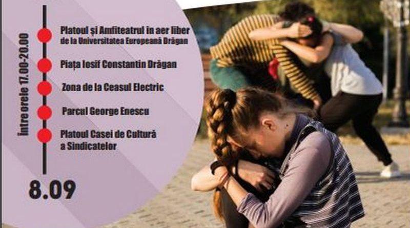 Lugoj Expres Proiect cultural: DansNomad, la Lugoj spectacol de dans invitat. proiect cultural Lugoj DansNomad dans contemporan în spațiul public dans contemporan cursuri de dans contemporan Bite the bullet/re:mix Beatrice Tudor ateliere de dans contemporan