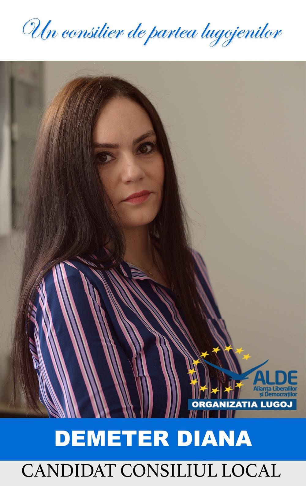 Lugoj Expres De partea lugojenilor, de partea sănătății! (P) Spitalul Municipal Lugoj serviciul medical sănătate Dr. Diana Demeter chirurgie maxilo-facială cabinete stomatologice ALDE