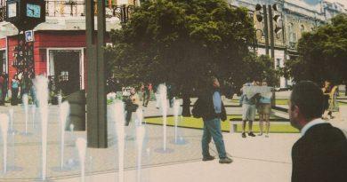 Lugoj Expres Reabilitarea primului tronson al străzii Mocioni: vor fi amenajate cinci fântâni arteziene tronson strada Mocioni reabilitare proiect Lugoj lucrări investiție fântâni arteziene