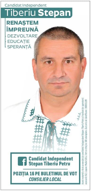 Lugoj Expres Tiberiu-Petru Stepan, un independent pentru Consiliul Local Lugoj (P) vocea lugojenilor Tiberiu-Petru Stepan program obiective dezbatere consultarea cetățenilor Consiliul Local Lugoj candidat independent alegeri Lugoj alegeri locale