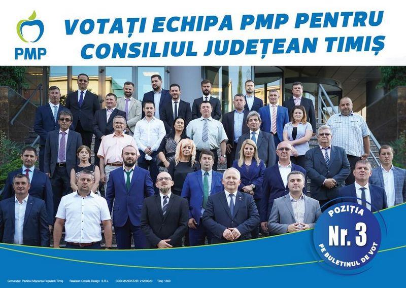 Lugoj Expres Dragul meu prieten, (P) PMP Cornel Sămărtinean Consiliul Județean Timiș candidat