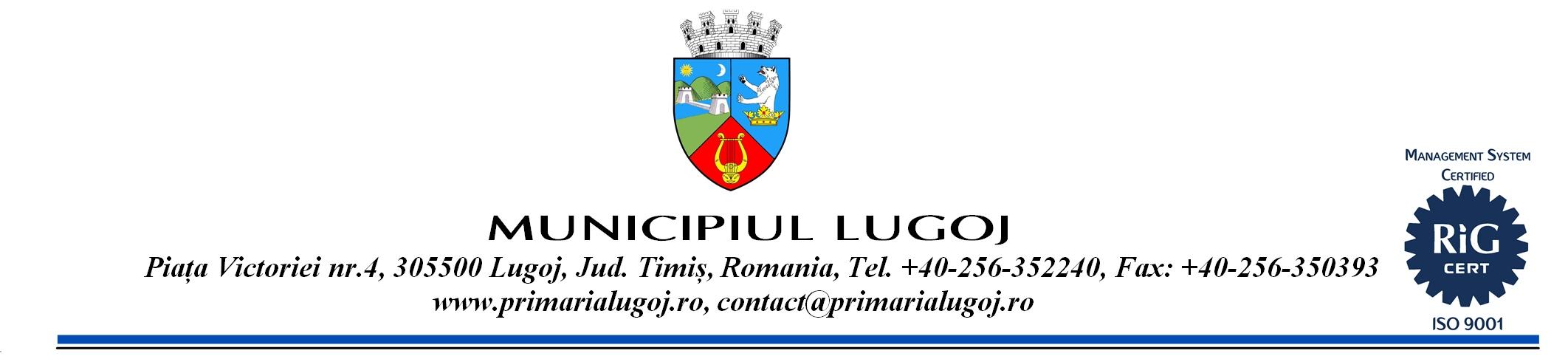 Lugoj Expres Anunţuri, comunicate şi publicitate